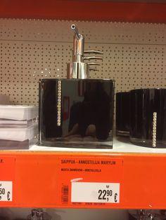 Pumppupullo isoon vessaa. Bauhaus