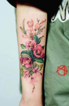 Tattoo Ideen Frauen Nando tattooer flower tattoo womentattooideas womentattoos is part of Mandala Skull tattoos Leg - Nando tattooer flower tattoo Source by angelikacylius Dream Tattoos, Body Art Tattoos, Sleeve Tattoos, Pretty Tattoos, Beautiful Tattoos, Cool Tattoos, Tatoos, Tattoo Henna, Tattoo Fonts