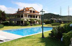 Lyxvilla i Baiona, Galicien