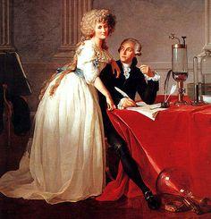 Jacques-Louis David, Portrait of Antoine-Laurent Lavoisier and his wife, 1788, olio su tela, Metropolitan Museum of Art