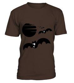 Halloween bats silhouette  #birthday #october #shirt #gift #ideas #photo #image #gift #costume #crazy #halloween