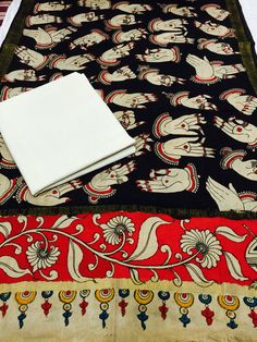 #KALAMKARIDUPATTAS BULK INQUIRIES CONTACT WhatsApp +919909272587 Kalamkari Painting, Fabric Painting, Saris, Anarkali, Indian Wear, Indian Fashion, Ethnic, Textiles, Paintings