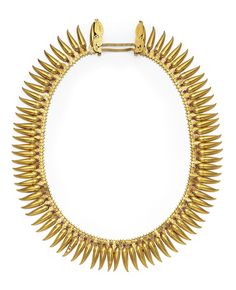 A Gold Necklace, Kerala, South India, Late 19th Century
