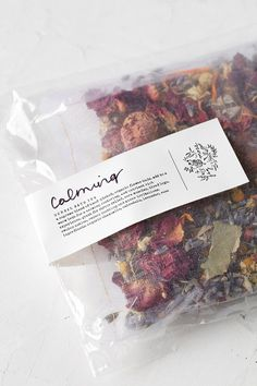 herbs Fig + Moss Calming Herbal Bath Tea - Urban Outfitters Wedding Location: Selecting The Perfect
