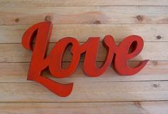 Palabra Love   La tienda de La Factoría Plástica