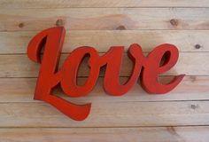 Palabra Love | La tienda de La Factoría Plástica