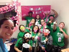 You can purchase a photobooth prop set or make your own to turn your group room into a fun photobooth! Make Your Own, How To Make, Photo Booth Props, Some Ideas, Group, Fun, Funny