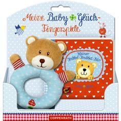 Lustige Fingerspiele mit dem Kribbel-Krabbel-Bär von BabyGlück!