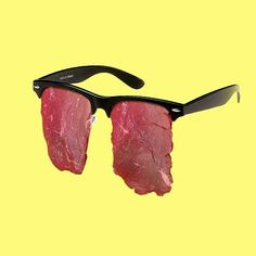 // Conceptual / #Serious #Design #Meat #Glasses #Rayban