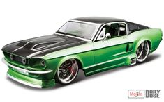 1/24 Maisto Design: Assembly Line, The 1967 Ford Mustang GT