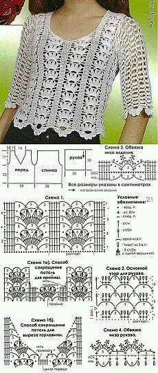 Mi baúl de Inspiraciones : Boleros y blusas patrones incluidos