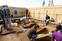 Here's the link to our package of stories, photos and videos on today's announcement regarding the identification of four burials unearthed inside the footprint of the 1608 church at Jamestown: http://bit.ly/1KwqBLA -- Mark St. John Erickson
