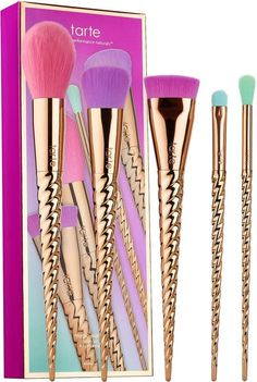 Tarte Make Believe In Yourself: Magic Wands Brush Set, new for spring 2017