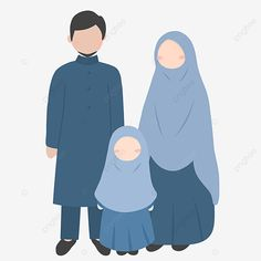 Happy Fathers Day, Happy Mothers, Mother's Day Background, Muslim Family, Family Illustration, Flower Backgrounds, Niqab, Second Child, More Cute