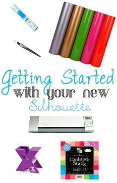 Getting Started with Your Silhouette Part 1 - Shes {kinda} Crafty