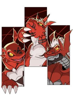 Digimon: Guilmon by KLouDraws