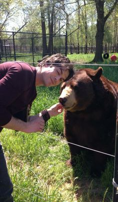 So, by now you've heard that Ian Somerhalder visited Noah's Ark today to learn…