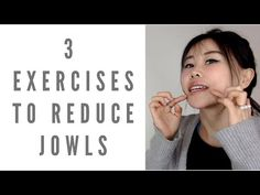 3 exercises and tips to reduce/prevent jowls Jowl Exercises, Face Lift Exercises, Neck Exercises, Facial Exercises For Jowls, Face Yoga Method, Keep Your Mouth Shut, Facial Yoga, Face Massage, Hair