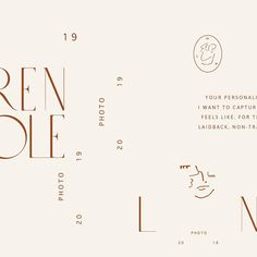 So giddy to share this branding for the ever talented . We wanted to convey the intimacy of her photos in a special and… Web Design, Layout Design, Logo Inspiration, Typography Layout, Lettering, Graphic Design Posters, Graphic Design Typography, Brand Identity Design, Branding Design