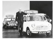 Sir Alec Issigonis created the MINI in 1959. Knighted in 1969.