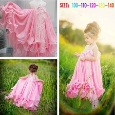 Roupas Infantil Vestir Girls dresses Fashion Child of Party costume Summer sleeveless Baby Girl Dress Princess Vestidos Baby Girl Dresses, Little Dresses, Flower Girl Dresses, Baby Girls, Suspender Dress, Baby Girl Princess, Ball Gown Dresses, Tutu Dresses, Dress Picture