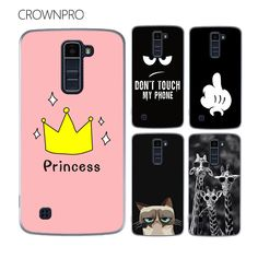 CROWNPRO FOR LG K10 Case Cover Colorful Painting Case FOR LG K10 / M2 F670 K410 K420N K430DS K430DSF Phone Back Case FOR LG K10