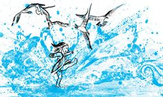 Love, love, love this book! Children's Books - 'Wave,' Written and illustrated by Suzy Lee - Review - NYTimes.com