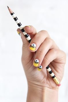 NAIL ART | OPEN EYED | I SPY DIY