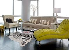 lime green accessories for living room | Colorful Summer Decoration Ideas for Home