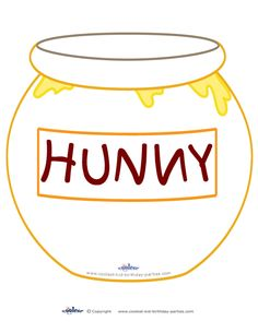 Printable Hunny Pot Decoration Coolest Free Printables