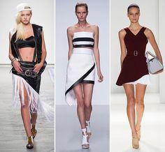 Spring/ Summer 2014 Fashion Trends: Asymmetrical Shapes  #fashion #fashiontrends