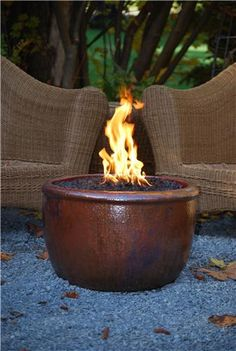The Exterior Fire Pit Ring – Outdoor Kitchen Designs Outdoor Fire, Outdoor Living, Outdoor Decor, Outdoor Spaces, Fire Pit Coffee Table, Copper Fire Pit, Fire Pots, Fire Pit Ring, Fireplace Garden