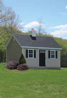 How Pretty Is This Kloter Farms Manor Cape Shed Love The Setting And Simplicity