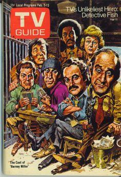 1976 TERRE HAUTE TV GUIDE~I LOVE LUCY~BARNEY MILLER~Olympics~Abe Vigoda~Charlie