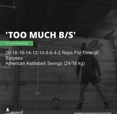 Weight Lifting Workouts, Fit Board Workouts, Running Workouts, At Home Workouts, Wods Crossfit, Crossfit At Home, Wod Workout, Dumbbell Workout, Hiit