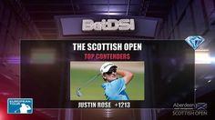 PGA Scottish Open Odds | Aberdeen Asset Management Golf Betting Picks Justin Rose, Golf Events, Golf Betting, European Tour, Asset Management, Aberdeen