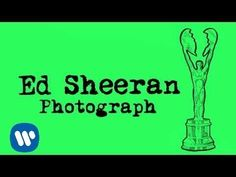 "Ed Sheeran - Photograph [Official Audio] ""When I'm away, I will remember how you kissed me under the lamp post back on sixth street, hearing you whisper through the phone, Wait for me to come home."""