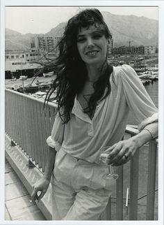 Jane Birkin monochrome