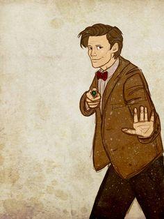 Doctor Who by emmilinne.deviantart.com on @deviantART