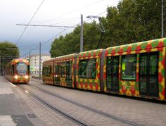 tram at Montpellier