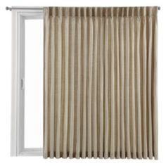 jcp | Royal Velvet® Supreme Pinch-Pleat/Back-Tab Thermal Patio Door Panel