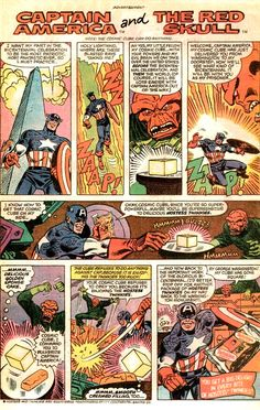 Captain America - Hostess 1970's Comic Strip Tribute Superheroes Selling Twinkies. I don't know why I love this so much
