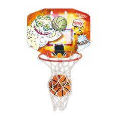 2235.4 - Mini Kit de Basquete Speedo | Acompanha bola e suportes para fixação indoor. Aro: 27 cm. | Dimensões: 26,5 x 23 x 44 cm | Faixa etária: + 3 anos | Esporte e Lazer | Xalingo Brinquedos | Crianças