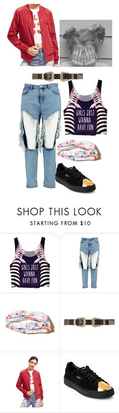 """""""Married to The Music"""" by maysnow on Polyvore featuring Boohoo, Hollister Co., B-Low the Belt and Puma"""