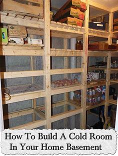 Welcome to living Green & Frugally. We aim to provide all your natural and frugal needs with lots of great tips and advice, How To Build A Cold Room In Your Home Basement