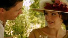 Aidan Gillen and Rachael Stirling - Agatha Christie Hercule Poirot - Five Little Pigs