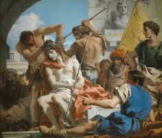 #CrowningWithThorns #GiandomenicoTiepolo #artwork #religion #christian