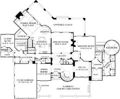 a girl can dream!! LOVE set up of the master bedroom: dressing room, walk in closets and and exercise room with sauna!!