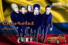 Chevrolet Sonic Te invita al concierto de The Cure en Bogotá     #TheCureDeGiraxChevrolet   @Chevrolet Colombia