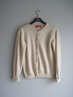 ALAIN MANOUKIAN Cardigan Knit Sweater Womens by woolpleasure